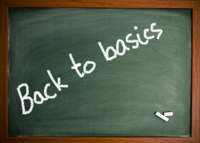 Back to Basics graphic